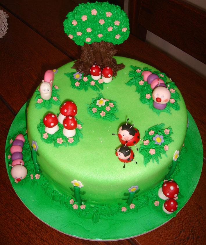 bolos decorados infantil com a tag bolo artistico bolo bichinhos