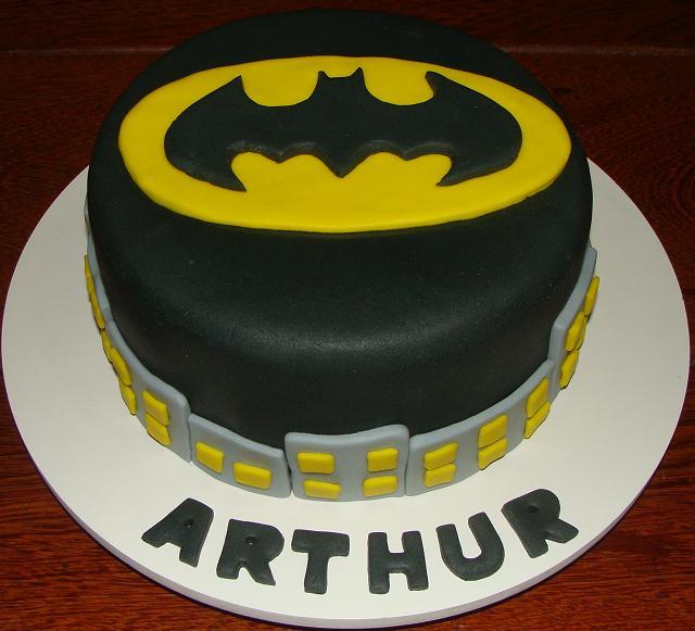 Bolos Decorados   A Tag Batman Bolo Artistico Bolo Confeitado Bolo